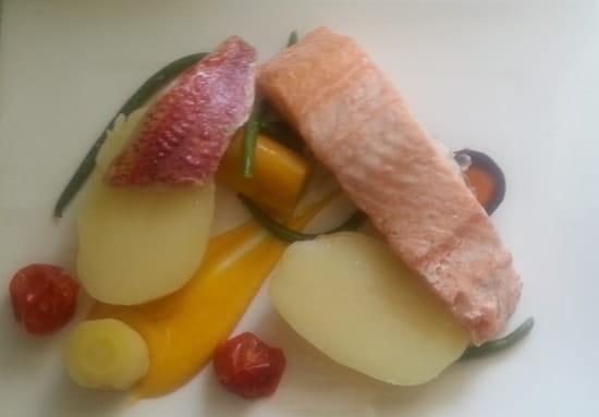 L'Auberg'In  - aïoli revisitée au saumon -   © patrice