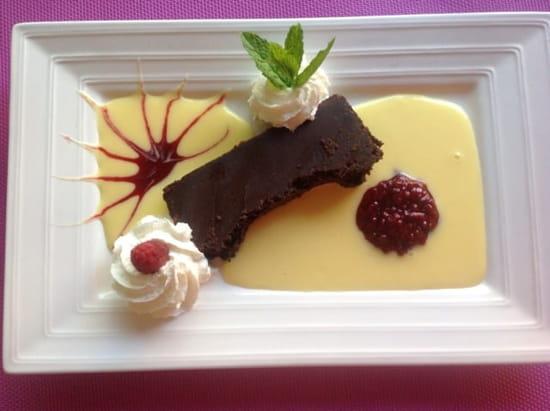 Dessert : Auberge des Vignerons  - Fondant chocolat -
