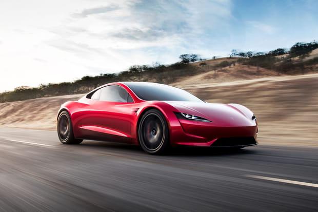 Tesla Roadster: le nouveau bolide électrique