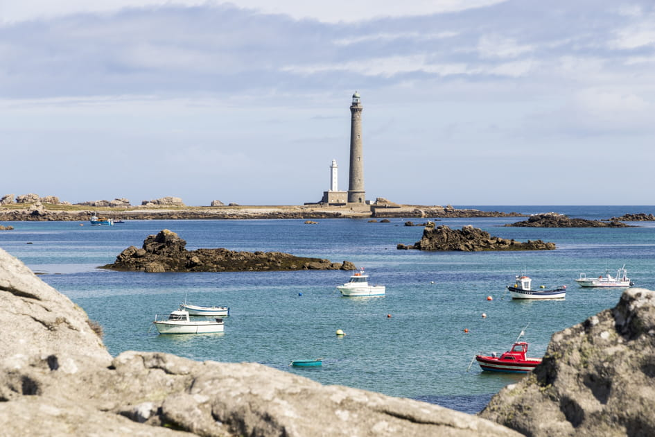 Le phare de l'île Vierge