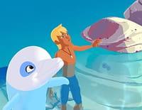 Oum le dauphin blanc : Trois hommes et un dauphin