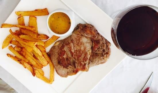 Plat : Le Mel'Laure  - Entrecôte de chalosse et frites maison !!!  -