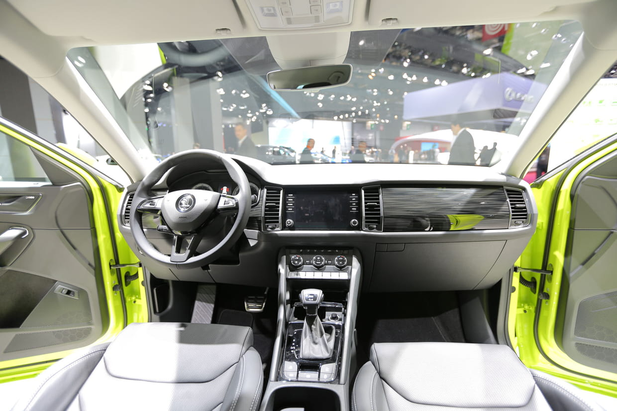 A l 39 int rieur du kodiaq for Interieur kodiaq