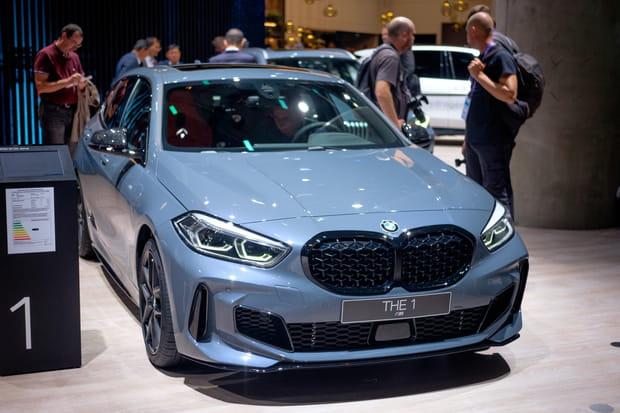 La nouvelle BMW Série 1se montre au Salon de Francfort