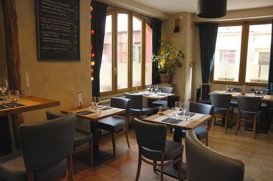 L'Assiette au Comptoir  - Salle restaurant -   © V.Dursent
