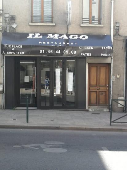 Restaurant : Il Mago  - Pizza pâtes panini tacos beureg salades -   © Photo exterieur