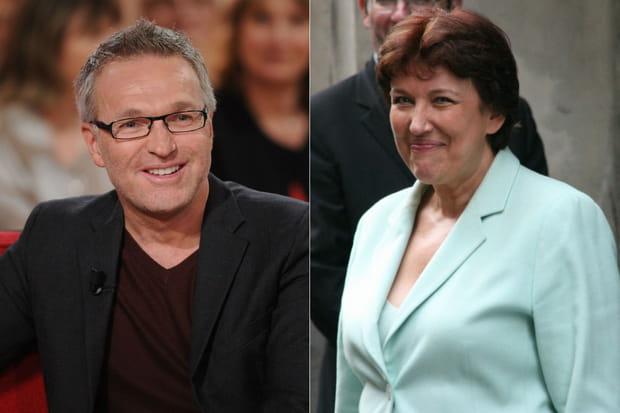 Laurent Ruquier et Roselyne Bachelot