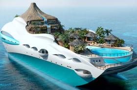 Quand un yacht se transforme en île tropicale