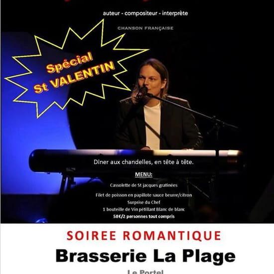 Brunch : Brasserie La Plage  - Soirée St Valentin -