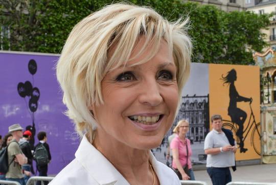 Evelyne Dhéliat absente de TF1suite au décès de son mari