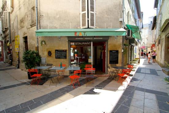 Restaurant : EAT  - Terrasse restaurant Avignon EAT -   © EAT