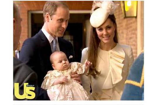 Prince George: lespremières images dubaptême
