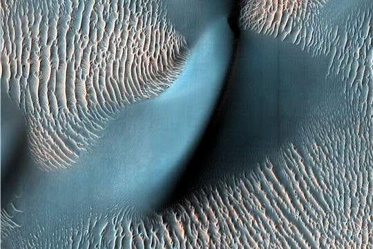 Une dune ondulante