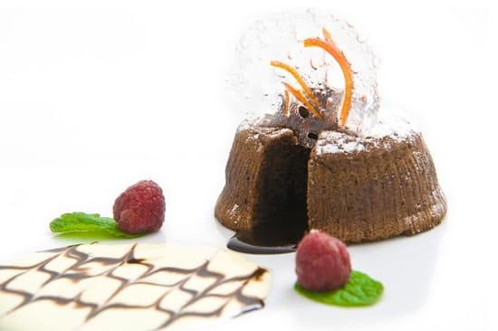Les Templiers  - Fondant au chocolat maison -