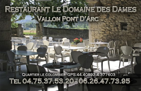 Le Domaine des Dames  - carte visite gps -   © Van Damme Michel