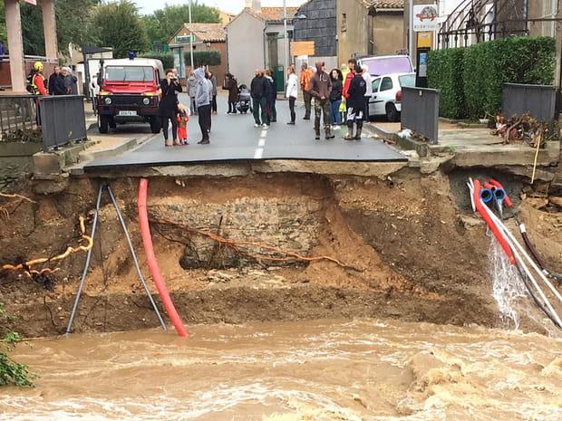 Les images des inondations meurtrières dans l'Aude