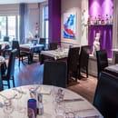 Le Gourmet  - salle -   © chazelle marc photographe cabourg