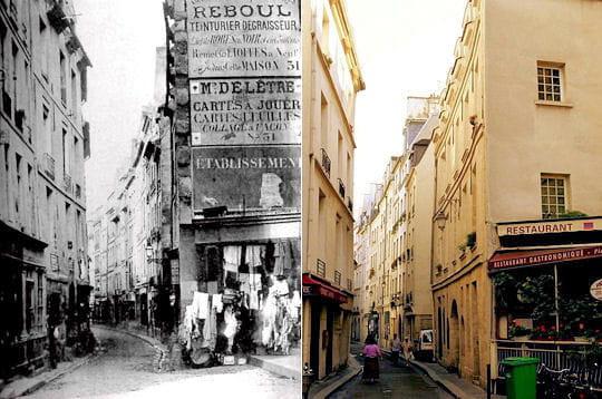 La rue de Bièvre 1850/ 2007