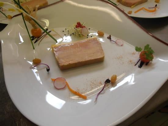 Restaurant Le Damier  - foie gras maison -