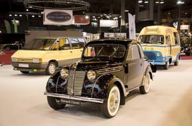 Renault expose 120ans d'histoire à Rétromobile