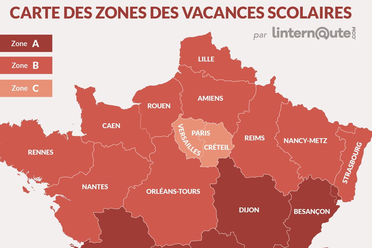 Vacances scolaires paris 2020