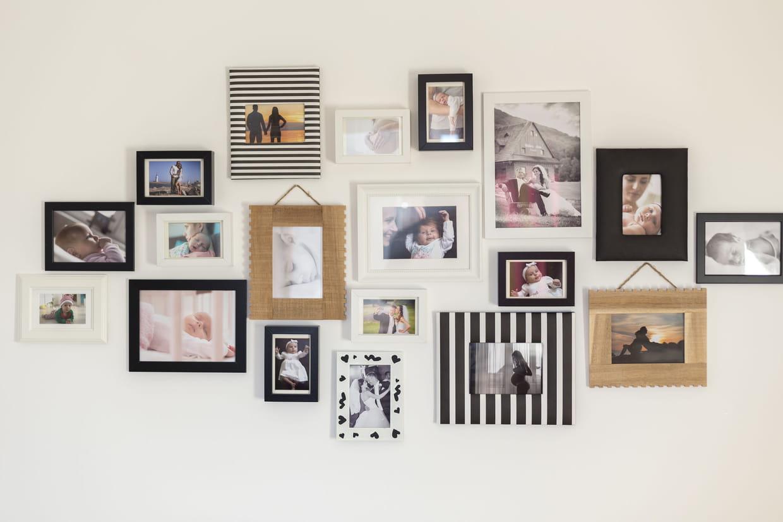 Cadre Original Pour Plusieurs Photos cadre photo : des conseils, tendances et modèles pour choisir