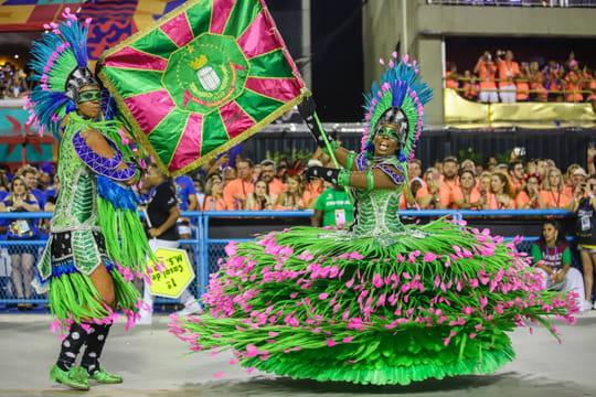 Carnaval de Rio:l'école de Samba de Mangueira grande gagnante, les photos