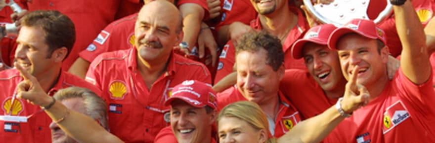 """Famille, amis... Qui sont les membres du""""clan""""Schumacher?"""