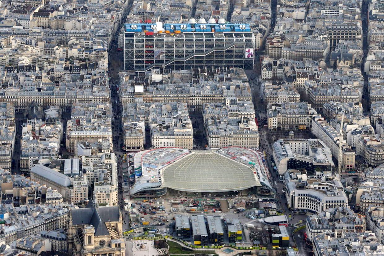 La canop e des halles ex forum des halles - Forum des halles paris ...