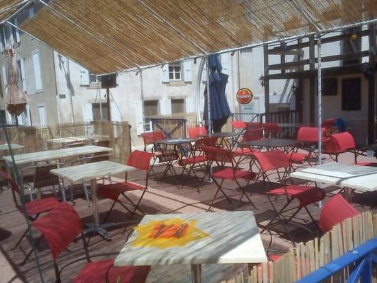 La Fourchett Folle  - la terrasse -