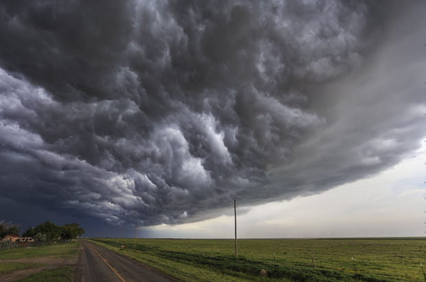 """""""Tornado Alley"""" aux Etats-Unis"""