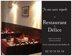 Restaurant du Délice  - Restaurant du Délice GAVRAY -
