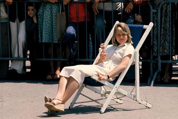 Jodie Foster à 13 ans à Cannes en 1976