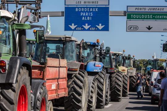 Blocages des agriculteurs: des mobilisations partout en France
