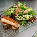 Au Nid Gourmand  - totem du saumon sur st jacques -