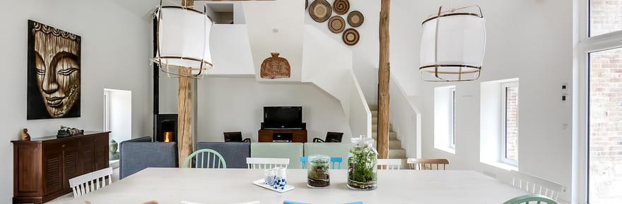 Une longère de 245m² brillamment rénovée dans l'Yonne