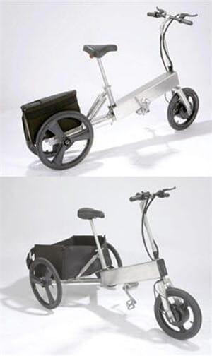 ce vélo électrique peut accueillir jusqu'à 40 kg de charge, en plus du poids de