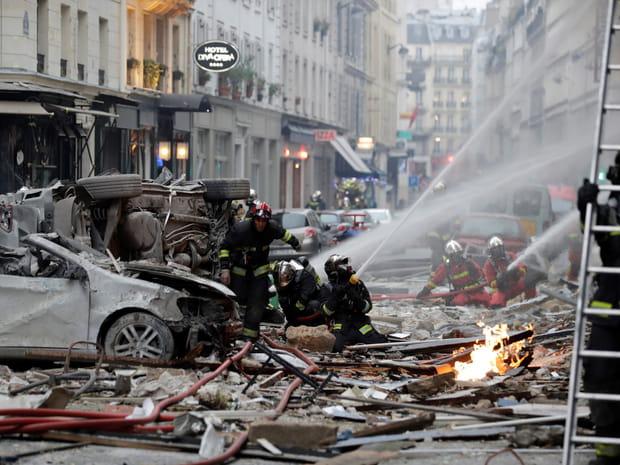 Les photos choc de l'explosion à Paris