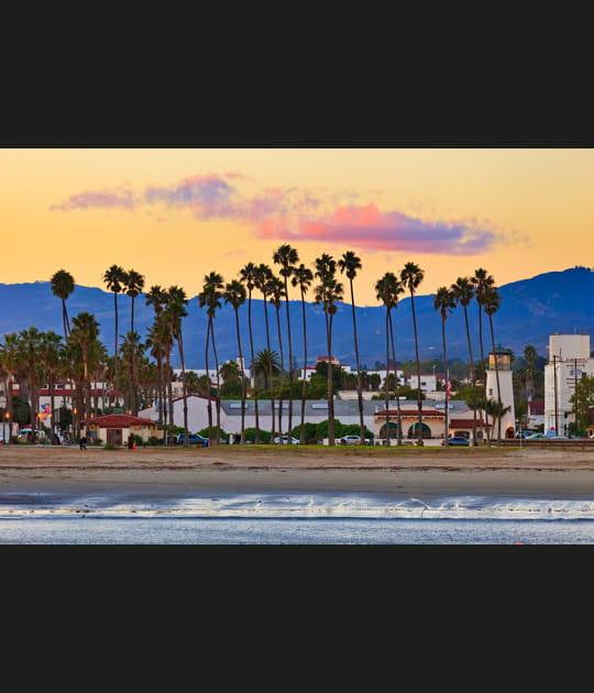 Santa Barbara depuis la jetée