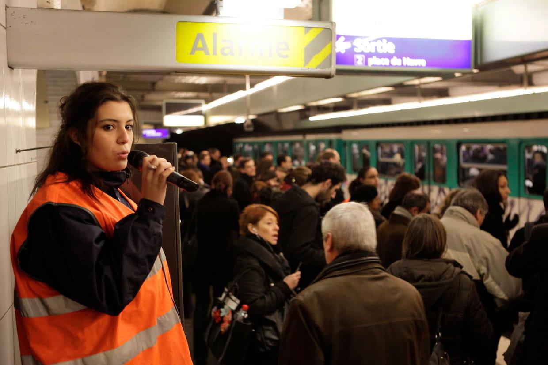 Métros et RER s'associent à la grève du 22 mars