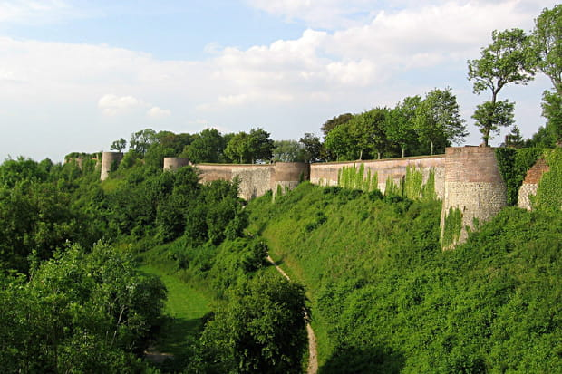 Les remparts de Montreuil-sur-Mer