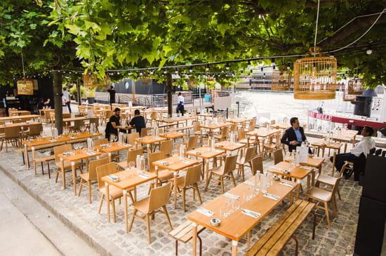 , Restaurant : La Démesure sur Seine   © La Démesure sur Seine