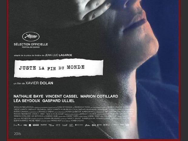 Juste la fin du monde: séances, bande annonce, avis, Xavier Dolan...