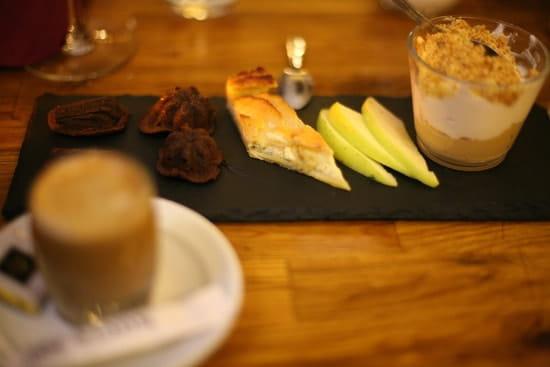 Sacrée fleur  - café gourmand -