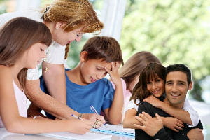 si vous des enfants avec votre concubin, vous pouvez recevoir des allocations