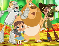 Le magicien d'Oz : Dorothy et ses amis : La route de briques jaunes