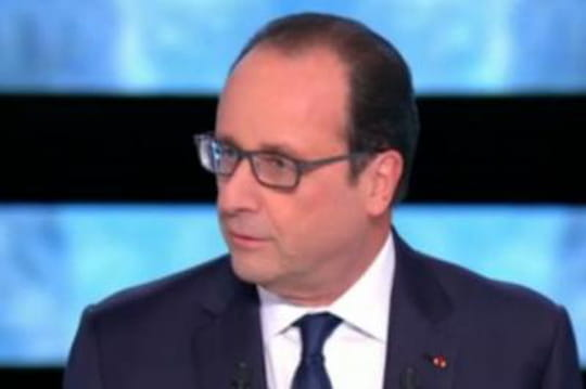 François Hollande : sa caricature en beauf un peu niais l'agace [VIDEO]