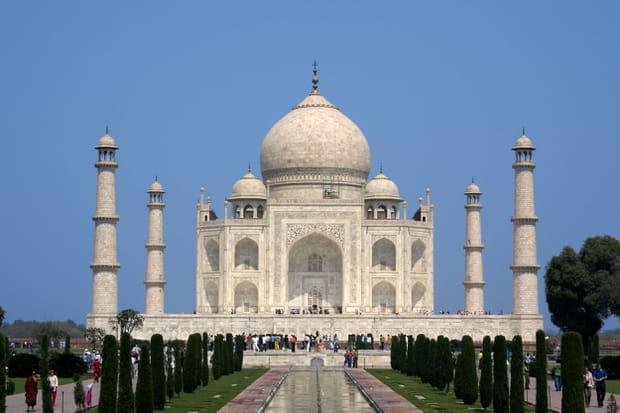 L'intérieur du Taj Mahal