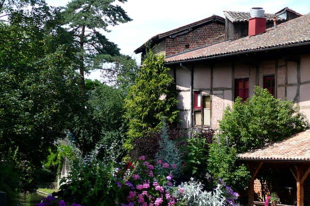 Châtillon-sur-Chalaronne au nord de Lyon