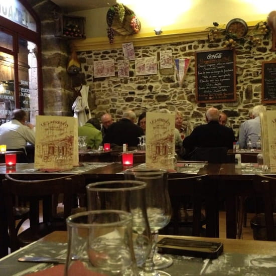 Restaurant : Le Laurencin  - L'intérieur  -